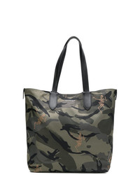 Sac fourre-tout camouflage olive Alexander McQueen