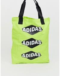 Sac fourre-tout chartreuse adidas Originals