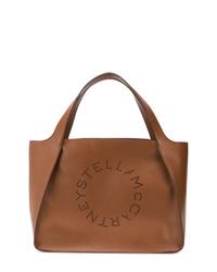 Sac fourre-tout en cuir marron Stella McCartney