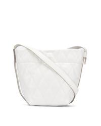 Sac fourre-tout en cuir matelassé blanc Givenchy
