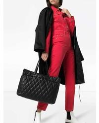 Sac fourre-tout en cuir matelassé noir Givenchy