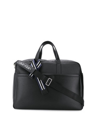 Sac fourre-tout en cuir noir Calvin Klein