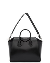 Sac fourre-tout en cuir noir Givenchy