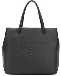 Sac fourre-tout en cuir noir Marc Jacobs