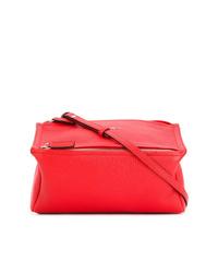Sac fourre-tout en cuir rouge Givenchy