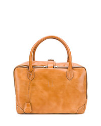Sac fourre-tout en cuir tabac Golden Goose Deluxe Brand