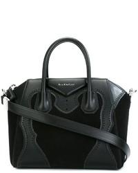 Sac fourre-tout en daim noir Givenchy