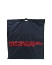 Sac fourre-tout en toile bleu marine Calvin Klein 205W39nyc