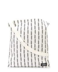 Sac fourre-tout en toile imprimé blanc et noir Neighborhood