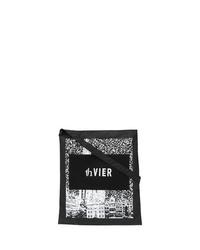 Sac fourre-tout en toile imprimé noir et blanc Th X Vier Antwerp