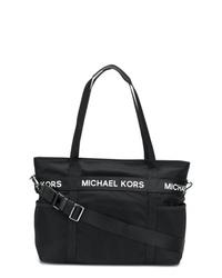 Sac fourre-tout en toile noir MICHAEL Michael Kors