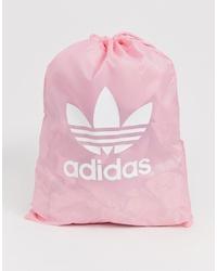 Sac fourre-tout en toile rose adidas