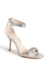 Sandales a talons argentees original 2132331