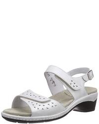 Sandales à talons blanches Semler