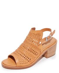 Sandales à talons brunes claires Rag & Bone