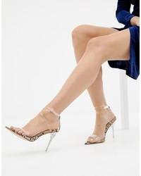 Sandales à talons en caoutchouc transparentes SIMMI Shoes