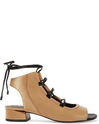 Sandales à talons en cuir brunes claires 3.1 Phillip Lim