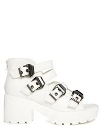 Sandales a talons medium 100555