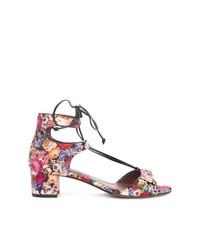 Sandales à talons en cuir multicolores Tabitha Simmons