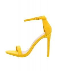 Sandales à talons jaunes Aldo