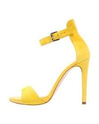 Sandales à talons jaunes Mai Piu Senza