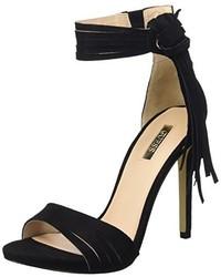 Sandales à talons noires GUESS