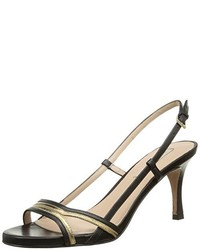 Sandales à talons noires Pura Lopez