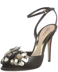 Sandales à talons noires Sebastian