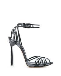 Sandales à talons transparentes Casadei