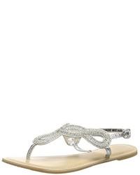 Sandales argentées New Look