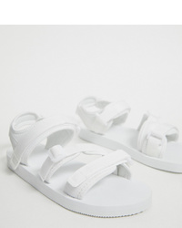 Sandales blanches ASOS DESIGN
