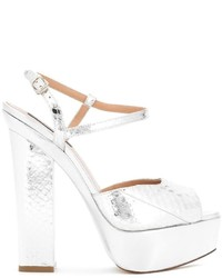 Sandales blanches Dsquared2