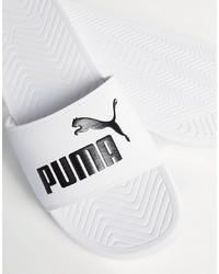 Sandales blanches Puma