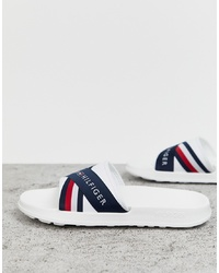 Sandales blanches Tommy Hilfiger