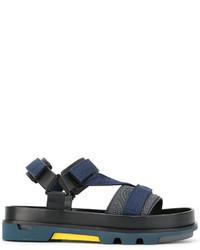 Sandales bleu marine Emporio Armani