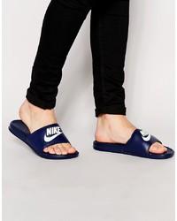 Sandales bleu marine Nike