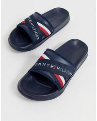 Sandales bleu marine Tommy Hilfiger