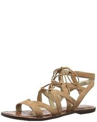 Sandales brunes claires Sam Edelman