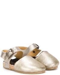 Sandales dorées Pépé
