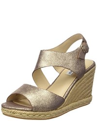Sandales dorées Steve Madden