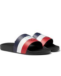 Sandales en caoutchouc multicolores Moncler