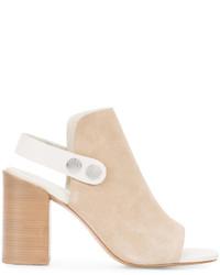 Sandales en cuir marron clair Rag & Bone