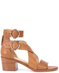 Sandales en cuir tabac Rag & Bone