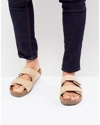 Sandales en daim beiges Eastland
