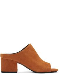 Sandales en daim brunes 3.1 Phillip Lim