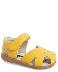 Sandales jaunes