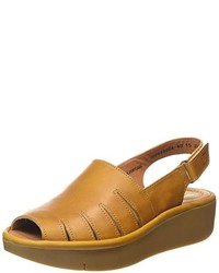 Sandales jaunes Fly London