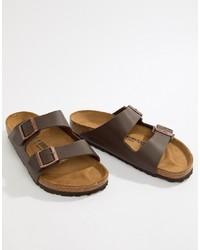 Sandales marron Birkenstock