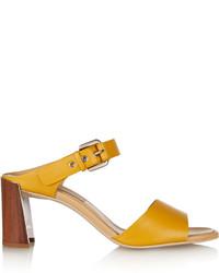 Sandales moutarde
