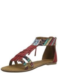 Sandales multicolores Tamaris
